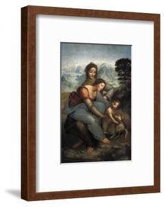 Virgin and Child with St by Leonardo da Vinci