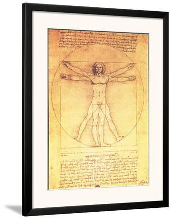Vitruvian Man Proportions of the Human Figure