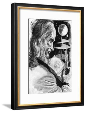 Leonardo Da Vinci--Framed Giclee Print
