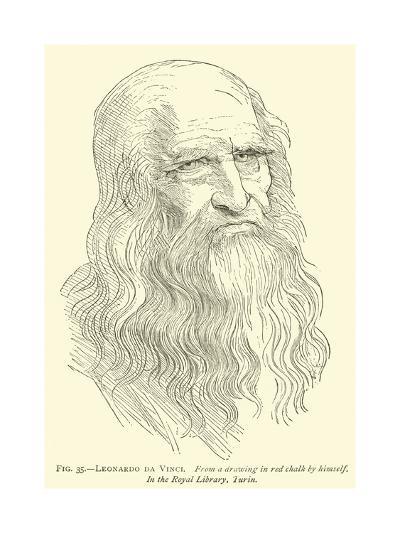 Leonardo Da Vinci--Giclee Print