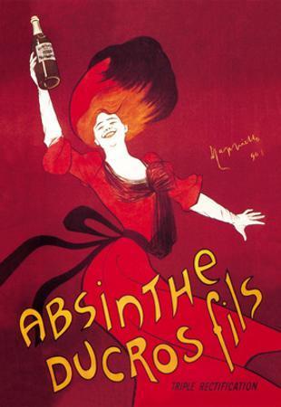 Absinthe Ducros Fils by Leonetto Cappiello