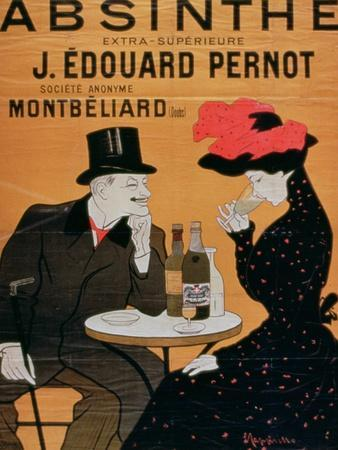 Absinthe Extra Superior', Produced by J. Edward Pernot for Montbeliar, Liquer Mont-Christ