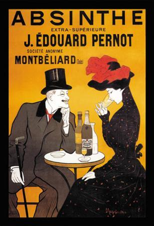 Absinthe J. Edouard Pernot by Leonetto Cappiello