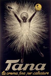Advertisement for Tana Shoe Polish, Poster, 1925 by Leonetto Cappiello