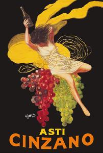 Asti Cinzano - Asti Spumante - Italian Sparkling White Wine by Leonetto Cappiello