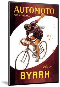 Automoto Byrrh by Leonetto Cappiello