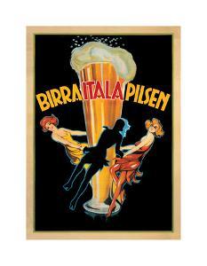 Birra Itala Pilsen 1920 Ca. by Leonetto Cappiello
