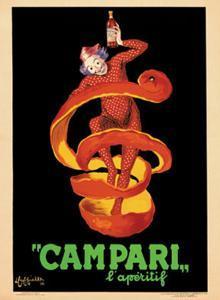 Bitter Campari L'Aperitif, c.1921 by Leonetto Cappiello