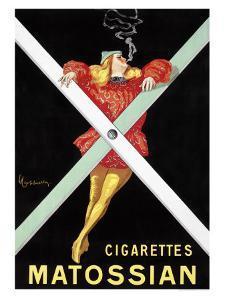 Cigarettes Matossian by Leonetto Cappiello