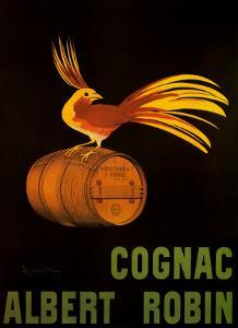 Cognac Albert Robin by Leonetto Cappiello