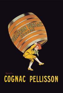 Cognac Pellisson - Barrel by Leonetto Cappiello