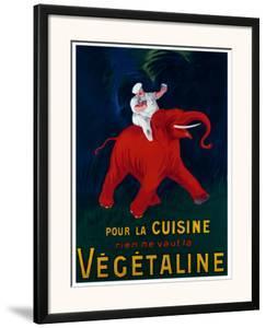 Cuisine Vegetaline by Leonetto Cappiello