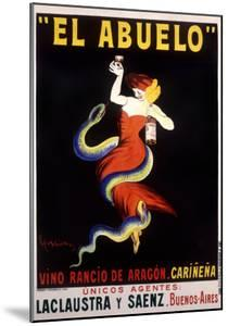 El Abuelo, Vino Rancio de Aragon by Leonetto Cappiello