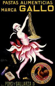 Gallo, Pastas Alimenticias by Leonetto Cappiello