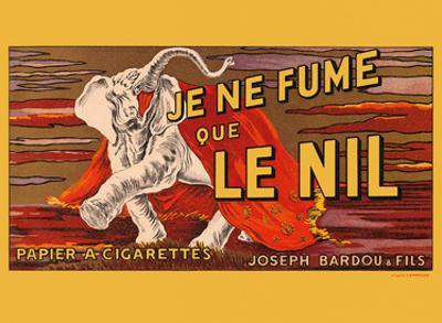 I Only Smoke Le Nil - Cigarette Papers - Joseph Bardou and Sons