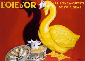 L'Oie d'Or by Leonetto Cappiello