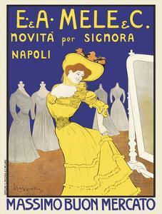 Massimo Buon Mercato, 1902 by Leonetto Cappiello