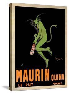 Maurin Quina, 1920 ca by Leonetto Cappiello