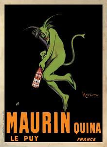 Maurin Quina, c.1906 by Leonetto Cappiello