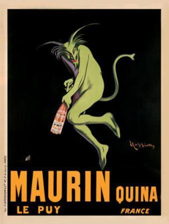 Maurin Quina, c.1920 by Leonetto Cappiello