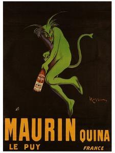 Maurin Quina by Leonetto Cappiello