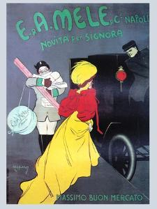 New for the Signora from Mele by Leonetto Cappiello