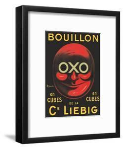 OXO Brand - Bouillon Stock Cubes - Liebig Co. by Leonetto Cappiello
