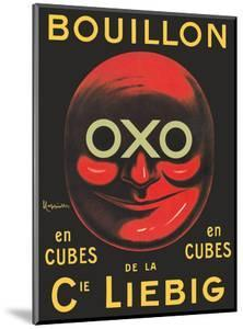 OXO Brand - Bouillon Stock Cubes - Liebig Co. by Leonetto Cappiello