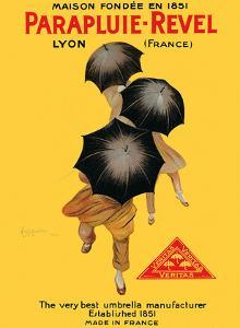 Parapluie-Revel - The Very Best Umbrella Manufacturer - Established 1851 by Leonetto Cappiello