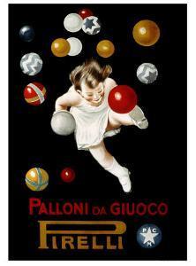 Pirelli Palloni da Giuoco by Leonetto Cappiello