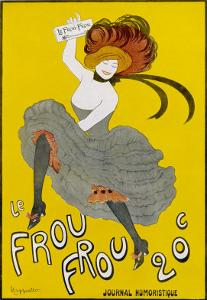 Poster for Le Frou-Frou Humorous Magazine by Leonetto Cappiello