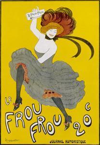 Poster for Le Frou-Frou Humorous Magazine by Leonetto Cappiello