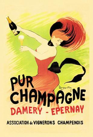 Pur Champagne by Leonetto Cappiello