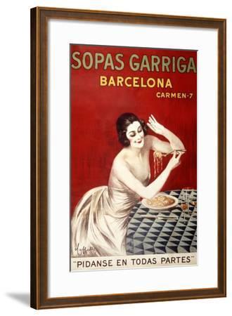 Sopas Garriga, Barcelona