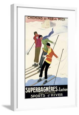 Superbagneres-Luchon, Sports d'Hiver