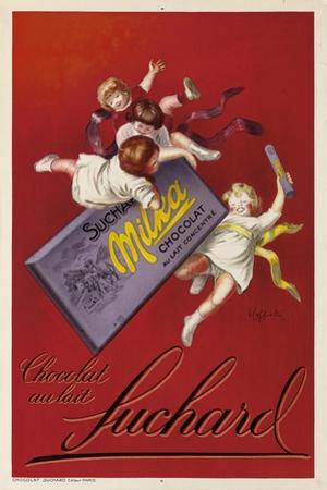 Werbung für die Schokolade 'Milka' der Firma Suchard. 1925 by Leonetto Cappiello