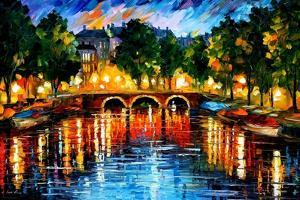 Amsterdam The Release Of Happines by Leonid Afremov