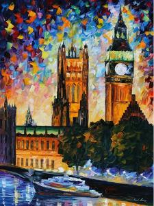 Big Ben by Leonid Afremov