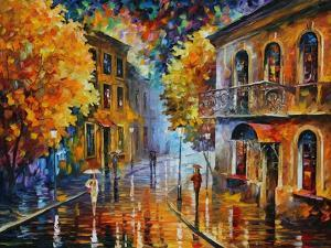 Etude in Red by Leonid Afremov