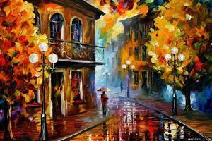 Fall Rain by Leonid Afremov