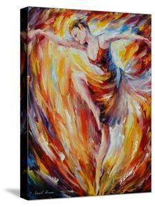 Flaming Dance by Leonid Afremov