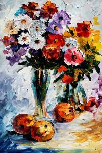 Flower Arrangement by Leonid Afremov