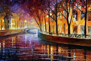 Misty Melody by Leonid Afremov