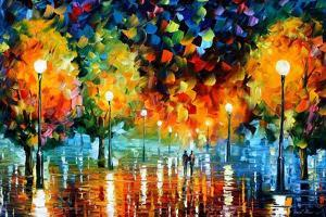 Storm Of Happiness by Leonid Afremov