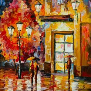 The Meeting by Leonid Afremov
