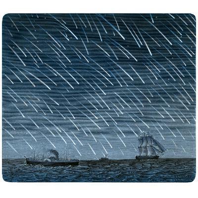 Leonid Meteor Shower of 1866-Detlev Van Ravenswaay-Photographic Print