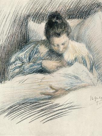 Mother and Child, 1900 by Leonid Osipovich Pasternak