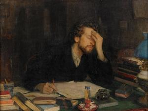 The Torments of Creative Work by Leonid Osipovich Pasternak