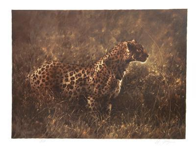 Leopard in the Grass-Nancy Glazier-Limited Edition