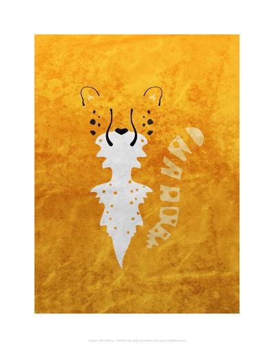 Leopard - Jethro Wilson Contemporary Wildlife Print-Jethro Wilson-Art Print
